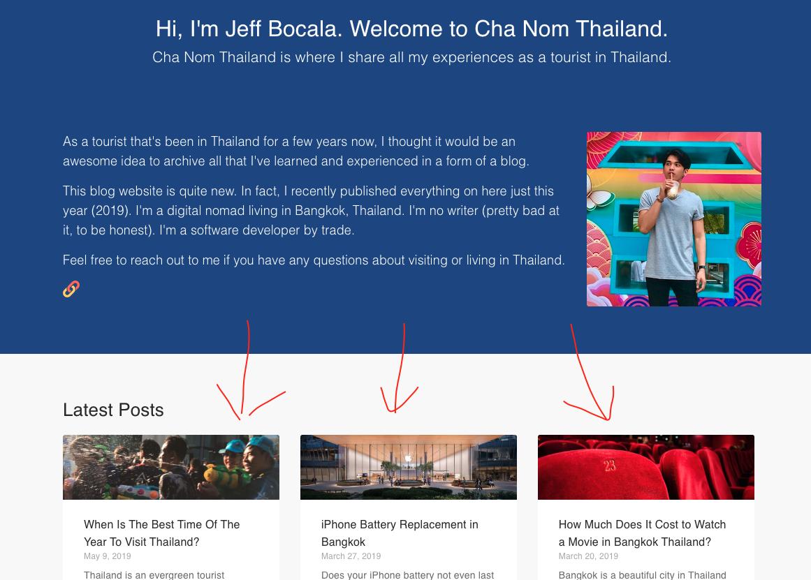 Cha Nom Thailand 1st